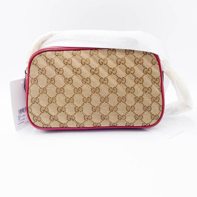 Gucci Marmont Gg Small Camera Red Shoulder Bag