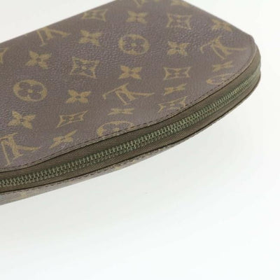Louis Vuitton Brown Monogram Gm Cosmetique Cosmetic Bag