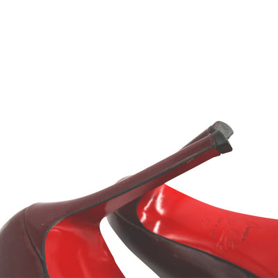 Christian Louboutin Red New Simple Stiletto 120mm Heels Platform Pumps 39 $845
