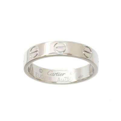 Cartier White Gold Mini Love Size 47 Ring