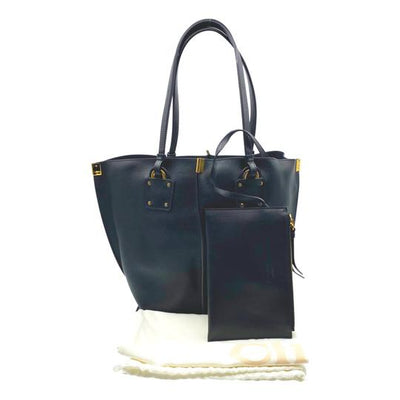 Chloé Medium Vick Black Leather Tote
