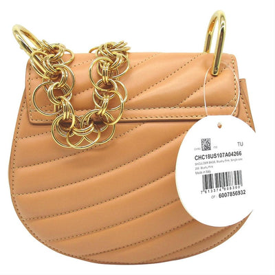 Chloé Drew Mini Bijou Purse Blushy Pink Calfskin Leather Shoulder Bag $2295