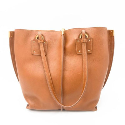 Chloe Vick Brown Leather Tote