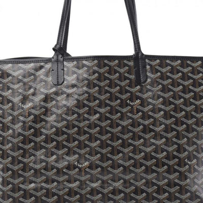 Goyard Goyardine Saint Louis Pm Black Coated Canvas Tote
