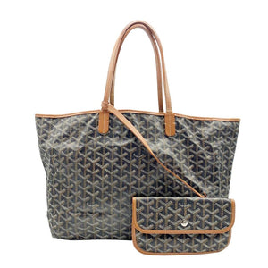 Goyard Goyardine Saint Louis Pm Gold Black Coated Canvas Tote
