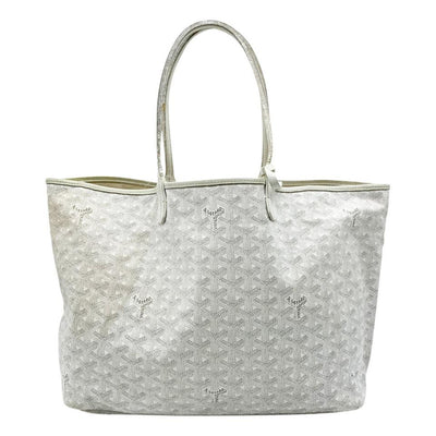 Goyard Goyardine Saint Louis Pm White Coated Canvas Tote