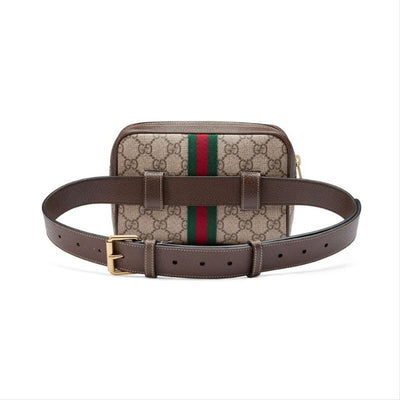Gucci Ophidia Supreme Brown Canvas Messenger Bag