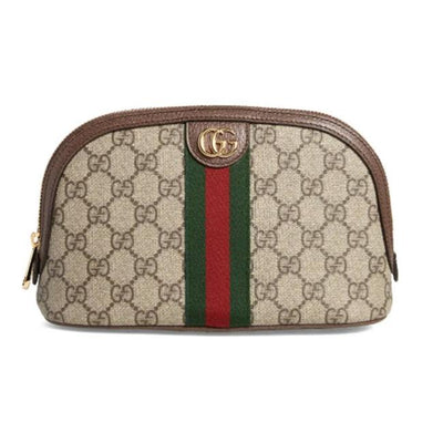 Gucci Mini Cosmetic Case Large Ophidia Brown Gg Supreme Canvas Weekend/Travel Bag