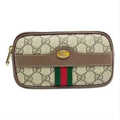 Gucci Ophidia Belt Small Size 105 Brown Gg Supreme Canvas Messenger Bag