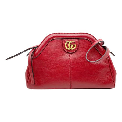 Gucci Shoulder Small Re(Belle) Red Leather Cross Body Bag