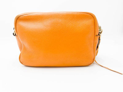 Gucci Soho Disco Small Orange Leather Shoulder Bag