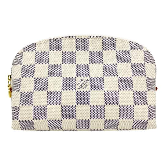 Louis Vuitton Damier Azur Pouch Clutch 2020 Cosmetic Bag