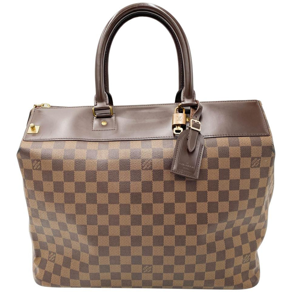 Louis Vuitton Greenwich Pm Brown Damier Ébène Canvas Weekend/Travel Bag