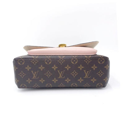 Louis Vuitton Marignan Rose Poudre Pink Monogram Canvas Shoulder Bag