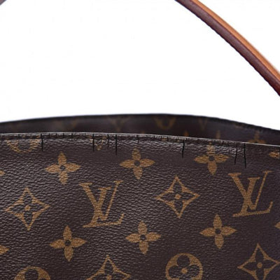 Louis Vuitton Melie Brown Monogram Canvas Hobo Bag