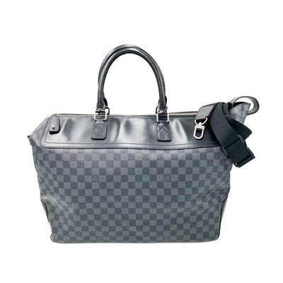 Louis Vuitton Neo Greenwich Damier Graphite Black Canvas Weekend/Travel Bag