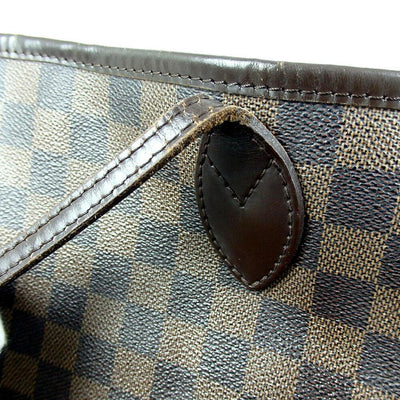 Louis Vuitton Neverfull Damier Ebene Brown Canvas Tote