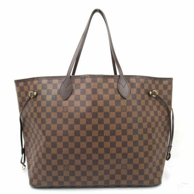 Louis Vuitton Neverfull Gm Ebene Brown Damier Canvas Tote