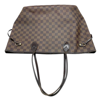 Louis Vuitton Neverfull Mm Brown Damier Ébène Canvas Tote