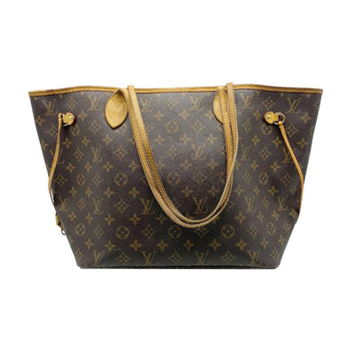 Louis Vuitton Neverfull Mm Brown Monogram Canvas Tote
