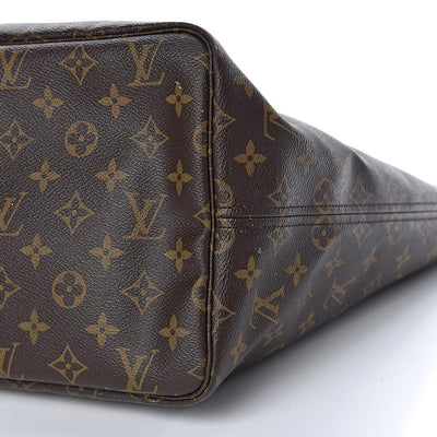 Louis Vuitton Neverfull Neo Gm Cerise Monogram Brown Canvas & Leather Tote