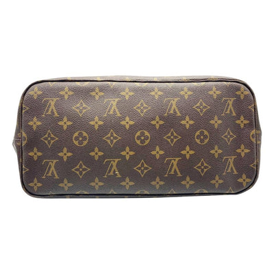 Louis Vuitton Neverfull Neo Mm Pivoine Brown Monogram Canvas Tote