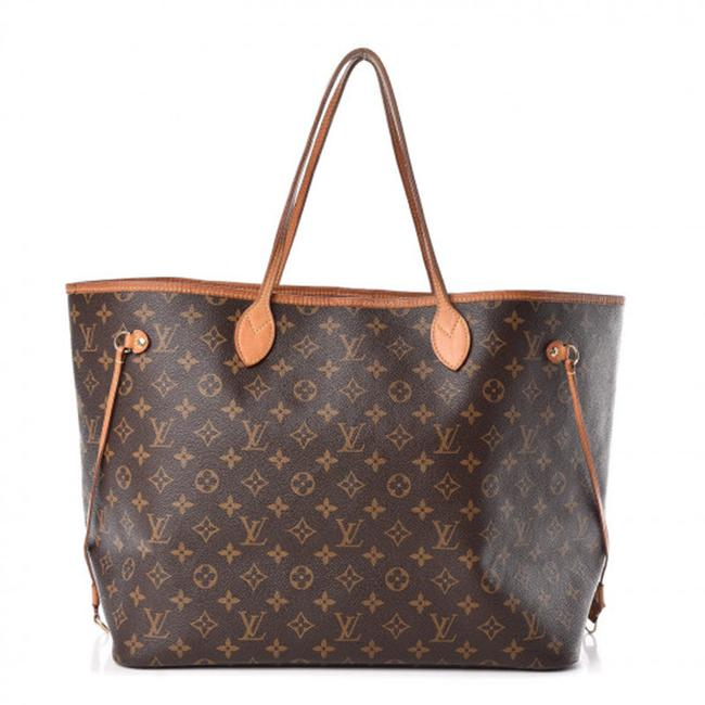 Louis Vuitton Neverfull Neo Monogram Gm Pivoine Brown Canvas Tote