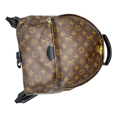 Louis Vuitton Palm Springs Mm Brown Monogram Canvas Backpack