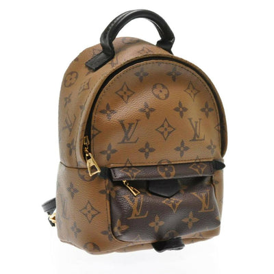 Louis Vuitton Palm Springs Monogram Reverse Mini Brown Canvas Backpack