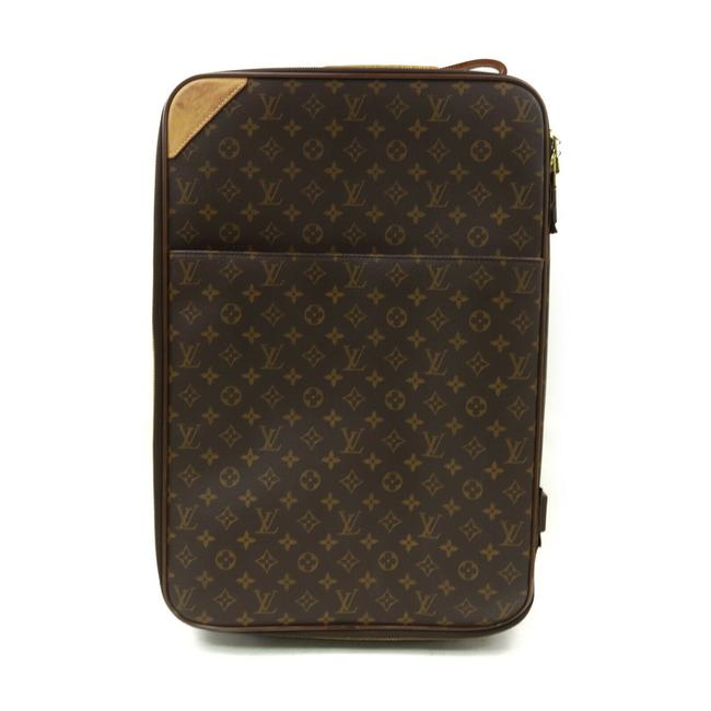 Louis Vuitton Pegase 55 Brown Monogram Canvas Weekend/Travel Bag