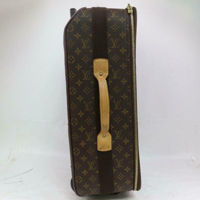 Louis Vuitton Pegase 60 Brown Monogram Canvas Weekend/Travel Bag