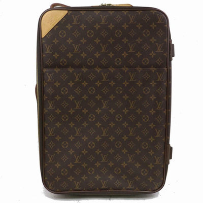 Louis Vuitton Pegase 60 Suitcase Carry On Brown Monogram Canvas Weekend/Travel Bag