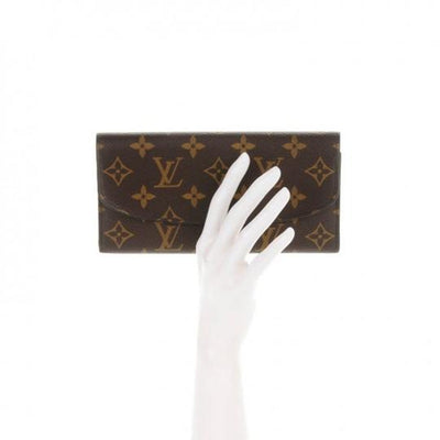 Louis Vuitton Pink Emilie Monogram Rose Ballerine Wallet