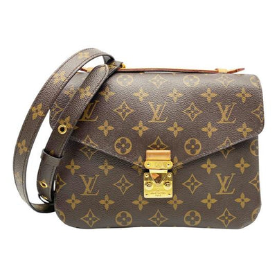 Louis Vuitton Pochette Metis 2018 Brown Monogram Canvas Shoulder Bag