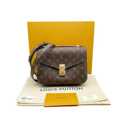 Louis Vuitton Pochette Metis 2020 Brown Monogram Canvas Shoulder Bag