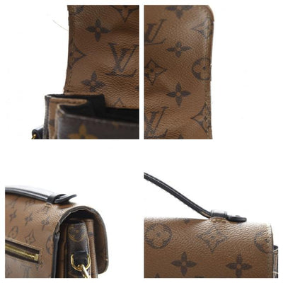Louis Vuitton Pochette Metis Brown Monogram Reverse Canvas Shoulder Bag