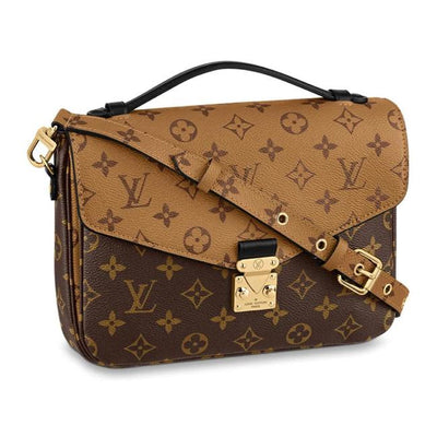 Louis Vuitton Pochette Metis Reverse 2020 Monogram Brown Canvas Cross Body Bag