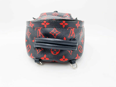 Louis Vuitton Palm Springs Mini Black Monogram Infrarouge Canvas Backpack