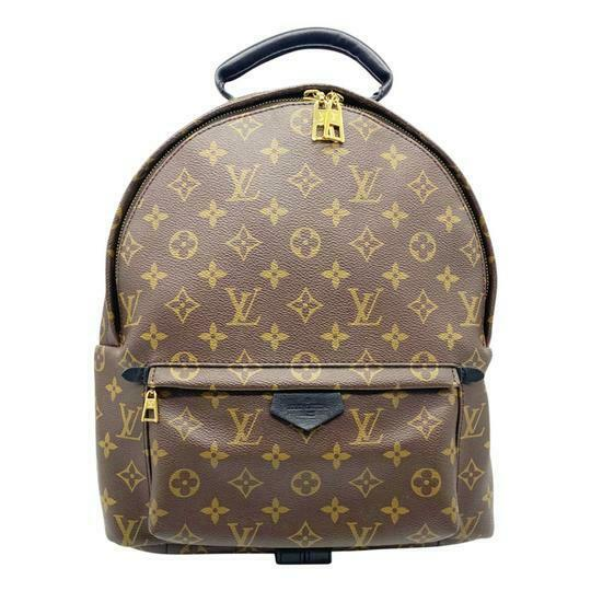 Louis Vuitton Palm Springs Mm Monogram Canvas Backpack