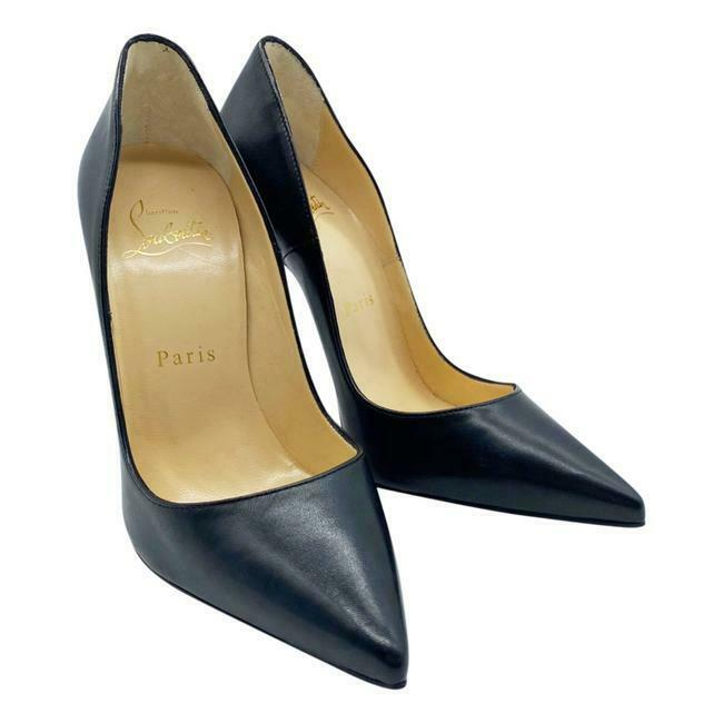 Christian Louboutin Black 120 Mm So Kate Pumps
