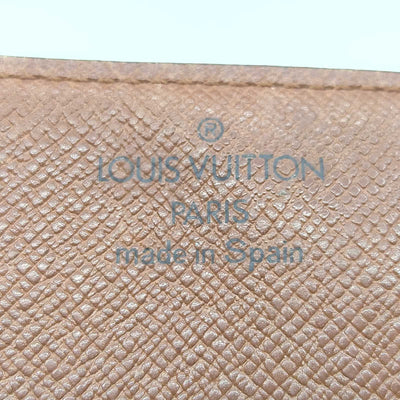 Louis Vuitton Brown Monogram Business Card Holder Wallet