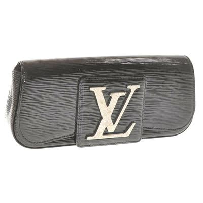 LOUIS VUITTON Epi Electric Sobe Pouch Black M4029N