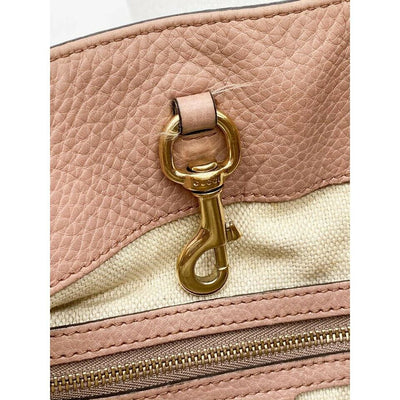 Gucci Shoulder Bag Soho Chain Medium Light Pink Leather Tote