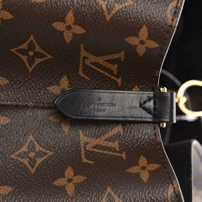 Louis Vuitton Neonoe Noir Black Monogram Canvas Shoulder Bag