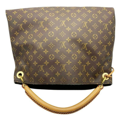 Louis Vuitton Artsy Mm 2018 Brown Monogram Canvas Hobo Bag
