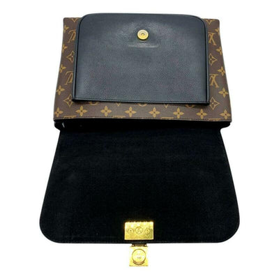 Louis Vuitton Marignan Black Monogram Canvas Shoulder Bag