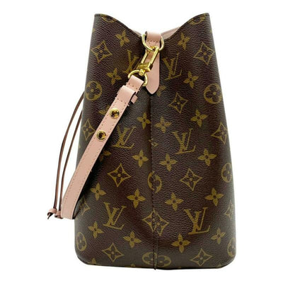Louis Vuitton Neonoe Rose Poudre Pink Monogram Canvas Shoulder Bag