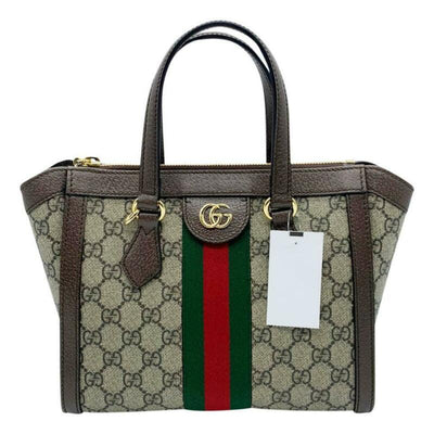 Gucci Bag Ophidia Small Brown Gg Supreme Canvas Tote