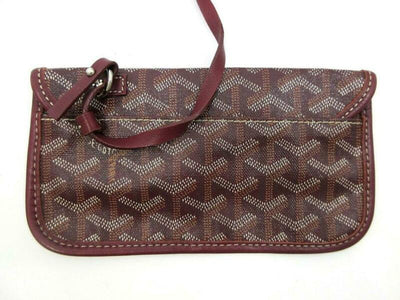 Goyard Saint Louis Pm Bordeaux Special Edition Red Coated Canvas Tote