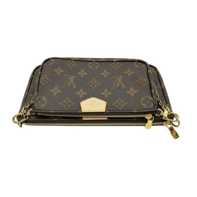 Louis Vuitton Pochette Multi Accessories Brown Monogram Canvas Cross Body Bag